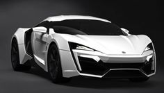 W Motors Lykan Hypersport: $3.4 million...The Lykan Hypersport is a supercar produced by W Motors, a Lebanese based company founded in 2012. It is the first Lebanese supercar. W Motors plans to only produce 7 units of the car. The first production Lykan H