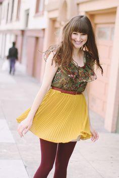 Zoey Deschannel style?