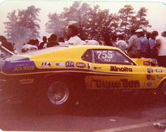 Dyno Don with engine by Jack Roush