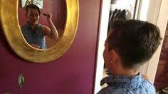 Hasil gambar untuk woman being barbered in barbershop