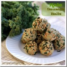 Meatless Mondays from A-Z: Kale Sausage Balls