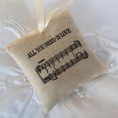 Unique Wedding Favors All You Need Is Love by CornerCottage4, £1.60