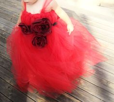 Valentine's Day tutu Red flower girl dress by CuddleBlissBoutique Red Flower Girl Dresses, Love And Marriage, Tutu, Valentines Day, Wedding Ideas, Trending Outfits, Wedding Dresses, Handmade, Inspiration