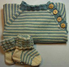 Pullover - Babypullover pflanzengefärbt Gr. 50/56 Wolle-Seide - ein Designerstück von Zauber-Licht bei DaWanda