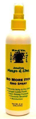 Rasta Jam Mango Lime No More Itch Gro Spray 8 oz. (3-Pack) with Free Nail File -- This is an Amazon Affiliate link. Read more at the image link.
