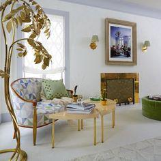 Interior design by Timothy Whealon for the 2016 Kips Bay Decorator Show House, via @sarahsarna.
