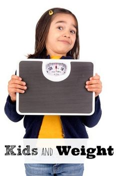 A conversation with my 5 year-old daughter about weight stopped me dead in my tracks.