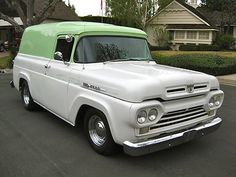 1960 Ford F100 Panel Truck 3..Re-pin Brought to you by agents at #HouseofInsurance in #EugeneOregon for #LowCostInsurance
