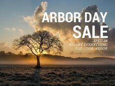 Arbor Day Sale 30% O