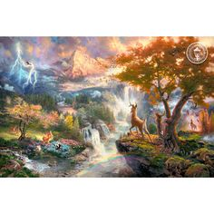 Thomas kinkade Disney dreams collection :)