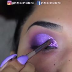 makeup glam to apply eye makeup makeup kaise kare makeup 55 year old makeup 101 how to apply makeup black eye with makeup tutorial eye makeup trends Makeup Eye Looks, Beautiful Eye Makeup, Eye Makeup Tips, Cute Makeup, Makeup Goals, Skin Makeup, Eyeshadow Makeup, Purple Makeup Looks, Purple Eye Makeup