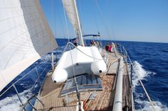 Swan 57 Panacea in Med between Cyprus and Turkey