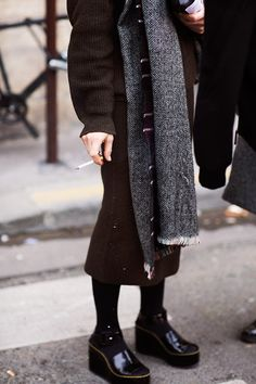 The Sartorialist.  Those shoes & tights! :)