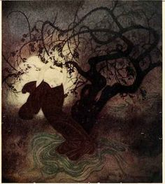 The Buried Moon, An English Fairy Tale from Edmund Dulac's Fairy Book 1916