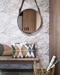 des papiers peints salon effet marbre modèle Marble