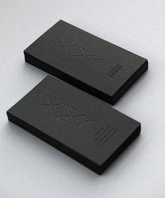 Kaimak Embossed Cards