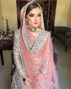 Shadi Dresses, Pakistani Formal Dresses, Pakistani Wedding Outfits, Pakistani Dress Design, Bridal Outfits, Nikkah Dress, Wedding Hijab, Indian Dresses, Pakistani Engagement Dresses