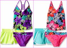 Get noticed in these radical, vibrant swimsuit. www.teelieturner.com #swimsuit