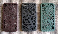 Steampunk iPhone 4 cases