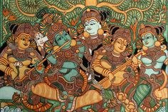 kerala mural paintings - Google Search