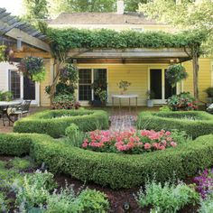 Porch and Patio Design Inspiration - Southern Living Boxwoods