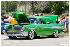 Grass Green 57' Chevy by TheMan268.deviantart.com on @deviantART