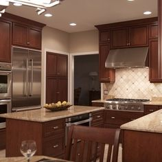 Entertainers' Kitchen - traditional - Kitchen - Detroit - Sharer Design Group LLC