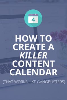 How To Create a Killer Content Calendar That Actually Works  #RePin by AT Social Media Marketing - Pinterest Marketing Specialists ATSocialMedia.co.uk
