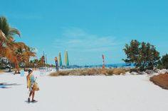 Plaża na Key West/ Floryda.