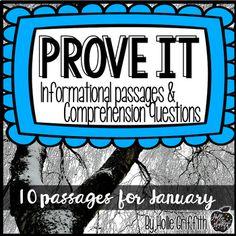 Prove it! Show me th