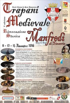 Italia Medievale: Trapani Medievale 2016
