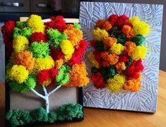Moss Wall Art, Moss Art, Moss Decor, Plant Art, Framed Art, Creative, Projects, Handmade, Crafts