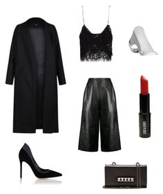 Evening Look ✌️ by swelshgirl on Polyvore featuring polyvore, fashion, style, Zara, Non, Whistles, Gianvito Rossi, Valentino, Lynn Ban, Lord & Berry and clothing