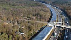 Bélgica presume la primera línea ferroviaria impulsada con energía solar