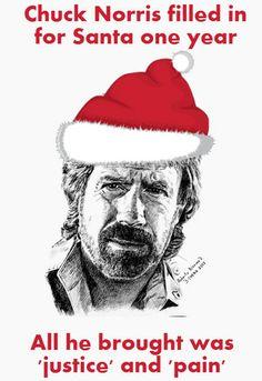 12/19/13 - Chuck Norris' idea of holiday joy.