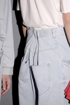 pleat too big jeans and make it a statement - http://panchika.tumblr.com