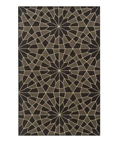 fractal wool rug by momeni rugs zulilyfinds