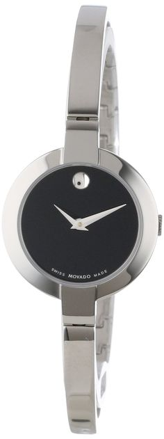 Movado Womens 605853 Bela Stainless-Steel Bangle Bracelet Watch: http://watches.cybermarket24.com/movado-womens-605853-bela-stainless-steel-bangle-bracelet-watch/