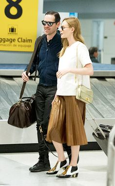 WHO:  Kate Bosworth WHAT:  Rodarte boots WHERE:  John F. Kennedy International Airport, New York City WHEN:  April 8, 2014