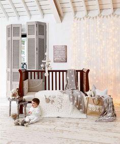 Millie & Boris - Lined Tie Top Curtains - 132 x 160cm - Millie & Boris Unisex - Mamas & Papas