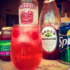 ▃▃▃▃▃▃▃▃▃▃▃▃▃▃▃▃▃▃▃▃ DIRTY SHIRLEY 1 1/2 oz.... | Tipsy Bartender