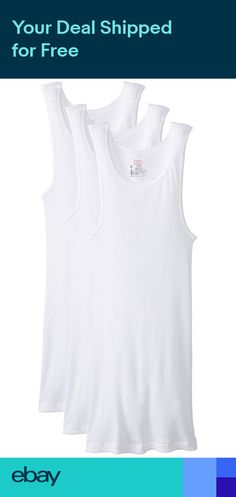 Pin By Inky Binki On White Men S Tank Tops Hanes Pinterest Cans And