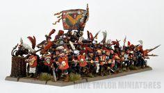 davetaylorminiatures: The Artillery Train of Nuln (Part 4)