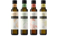 Èlia, aromatic olive oils by Atipus, via Behance