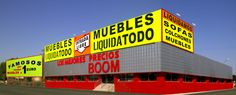 muebles BOOM Alcalá de Henares (Madrid) - Autovia A2, Km 34,200 frente Mediamarkt (P.C. Cuadernillos) - Tienda Online: www.mueblesboom.com