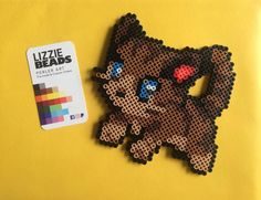 Cat perler beads by dizzygamingig