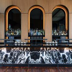 hotel bar Interior luxury bar design Discover more - hotel Lounge Design, Bar Lounge, Design Design, Design Ideas, Design Inspiration, Bar Designs, Modern Design, Showroom Design, Bar Interior Design