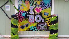 80's party photo booth idea.