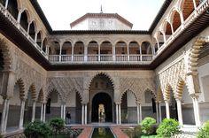 The Alcazar, Sevilla, Spain