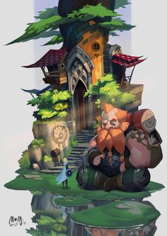 ArtStation - Excuse me.I'm afraid I got lost., M ZM